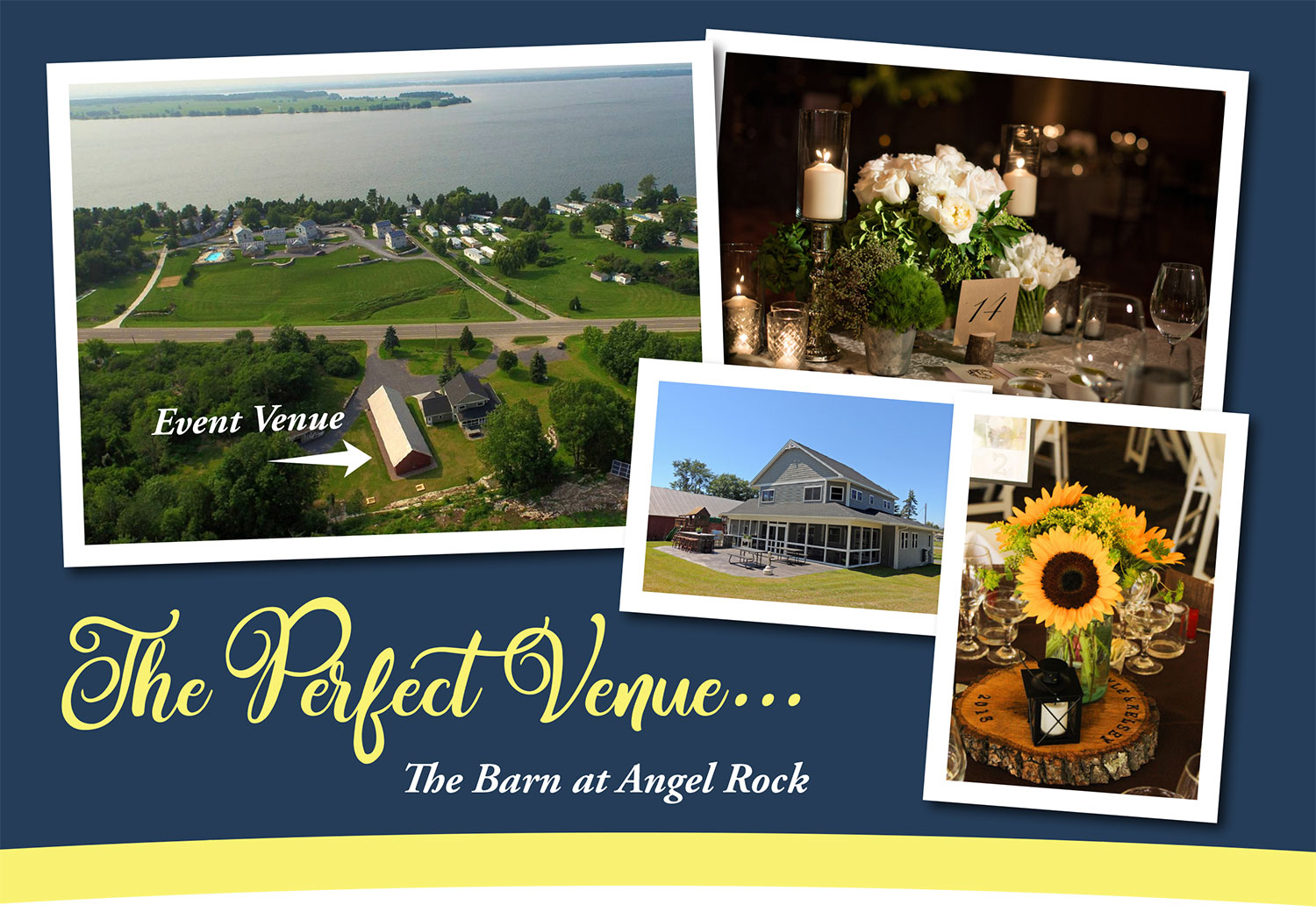 The Barn at Angel Rock - Cape Vincent - Thousand Islands Barn Wedding
